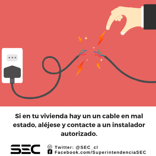 Cables en mal estado