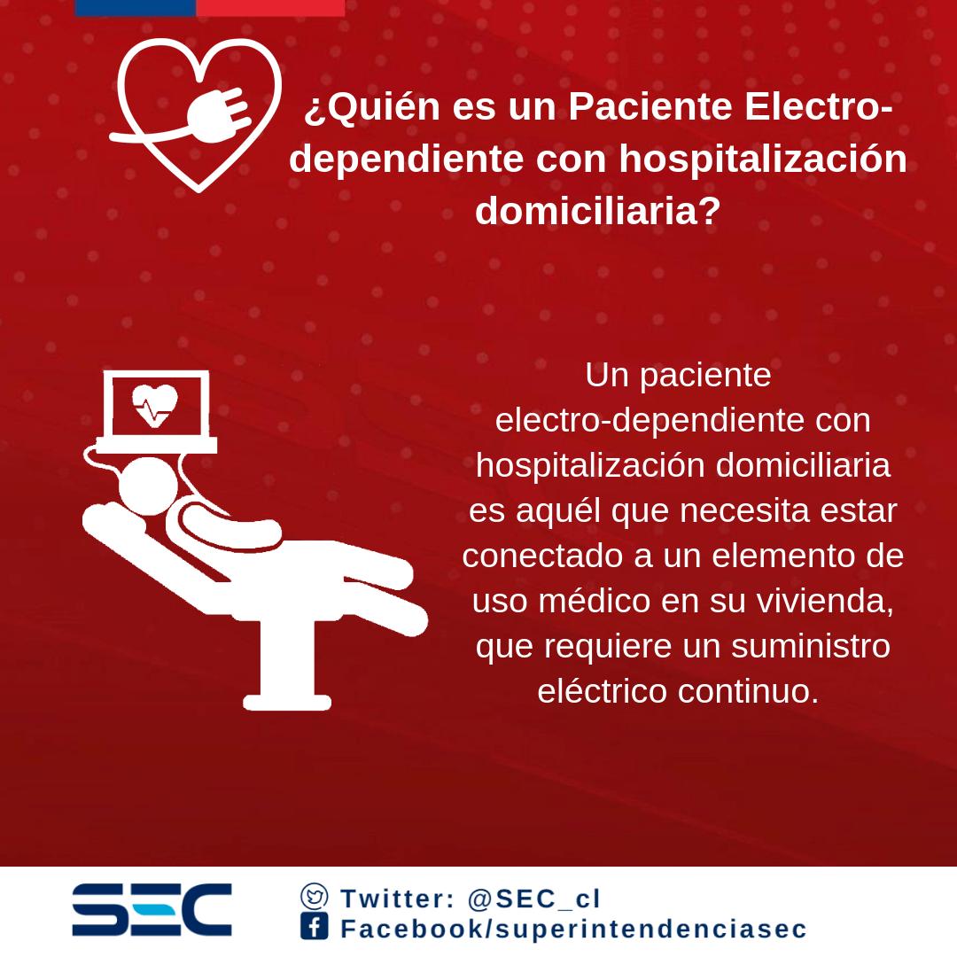 Pacientes electro-dependientes
