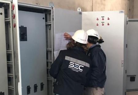 SEC Tarapacá fiscaliza que instalaciones eléctricas habilitadas en nuevo estadio Tierra de Campeones sean seguras