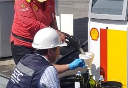 SEC Los Lagos fiscaliza seguridad y calidad del combustible a la venta en estaciones de servicio de la región