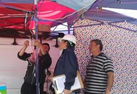 SEC Maule fiscaliza que instalaciones habilitadas en San Clemente por celebración de su 155 aniversario sean seguras