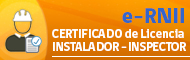 Solicitar Certificado Inspector o Instalador